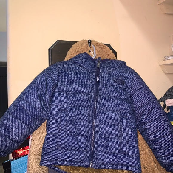 3T Boys Reversible North Face & North Face hat
